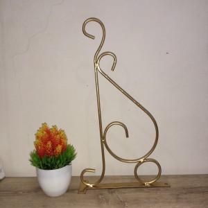 Harga besi gantungan sangkar pot bunga gold   HARGALOKA.COM