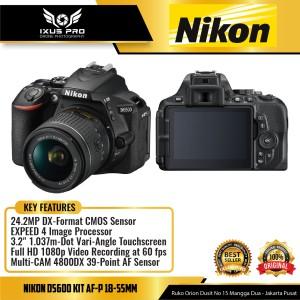 Harga nikon d5600 kit 18 55mm camera nikon d5600 kit af p | HARGALOKA.COM
