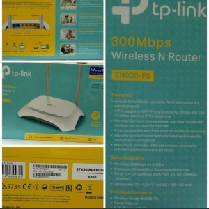 Harga router wireless wifi tp link tl wr840n   | HARGALOKA.COM