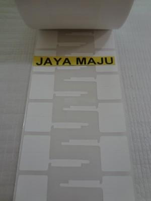Harga barcode label yupo untuk perhiasan emas jewelery 77 x 24 mm isi 3 | HARGALOKA.COM