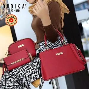 Harga tas original gudika 9020 set 3 in 1 tas import   | HARGALOKA.COM