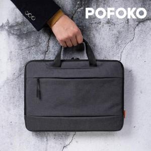 Harga pofoko a300 series tas laptop sleeve pouch handbag 11 12 13 14 inches   dark grey 13 | HARGALOKA.COM