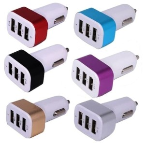 Info Adaptor Car Mobil Charger Carger Colokan Port 3 In 1 Batok Cas Usb Hp Katalog.or.id