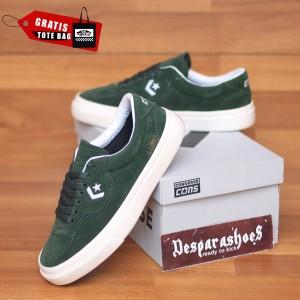Harga sepatu converse cons louie lopez hijau army import premium bnib   hijau | HARGALOKA.COM