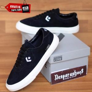 Harga sepatu converse cons louie lopez black white import premium bnib   black white | HARGALOKA.COM