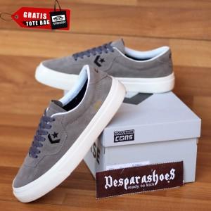 Harga sepatu converse cons louie lopez grey white import premium bnib   abu abu | HARGALOKA.COM