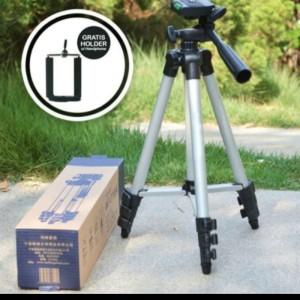Harga tripod 3110 weifeng tripod hp kamera stand portable holder acc foto | HARGALOKA.COM