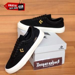 Harga sepatu converse cons louie lopez black gold import premium bnib   black gold | HARGALOKA.COM