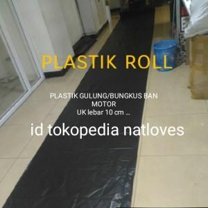 Harga plastik gulung ban motor packing ban motor 100 | HARGALOKA.COM
