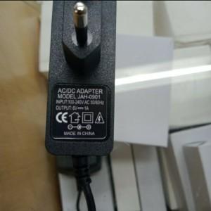 Harga adaptor omron tensimeter 6v untuk omron tensi dc plug 4 0mm x1 7 oem   HARGALOKA.COM