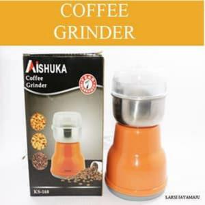 Harga blender obat merk aishuka penggiling kopi kacang dan rempah | HARGALOKA.COM