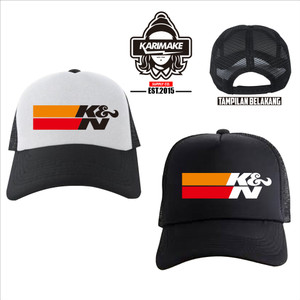 Harga topi trucker k amp n air filter logo topi jaring   | HARGALOKA.COM