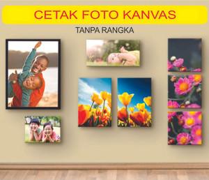 Harga cetak foto kanvas canvas photo print custom paling | HARGALOKA.COM