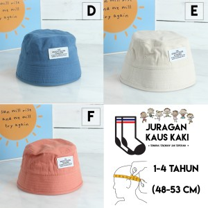 Harga topi bayi anak cewek cowok impor motif dino lucu grosir termurah   kode | HARGALOKA.COM