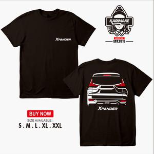 Harga kaos mobil mitsubishi xpander rear kaos otomotif | HARGALOKA.COM