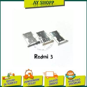 Harga simtray sim lock slot sim card tempat kartu xiaomi redmi 3 3s | HARGALOKA.COM