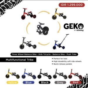 Harga geko 5 in 1 balance bike with stick by okiedog sepeda anak roda | HARGALOKA.COM