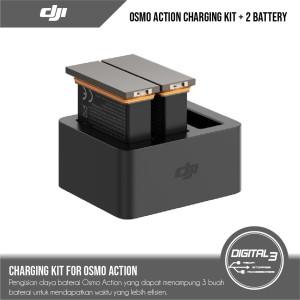 Harga dji osmo action camera charging kit   charging hub 2   HARGALOKA.COM