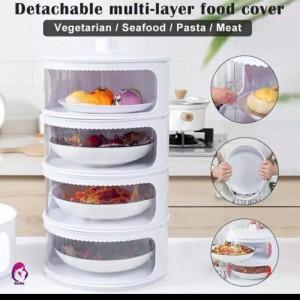 Harga food storage 4 layer wadah saji makanan susun dish cover tahan panas a   4 layer paking | HARGALOKA.COM