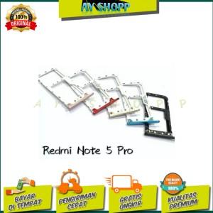 Harga simtray sim lock slot sim card tempat kartu xiaomi redmi note 5 | HARGALOKA.COM
