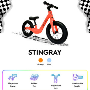 Harga sepeda anak 2 roda push bike icycle stingray   ride star   lisensi sni   | HARGALOKA.COM