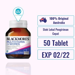 Harga blackmores multivitamin for women 50 tablet vitamin | HARGALOKA.COM