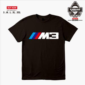 Harga kaos baju mobil bmw m3 logo kaos otomotif   | HARGALOKA.COM