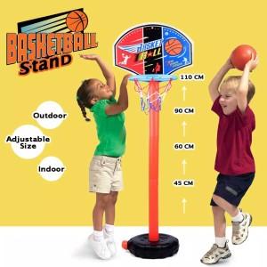 Harga mainan edukasi olahraga ring bola basket ball portable anak laki laki   tiang | HARGALOKA.COM