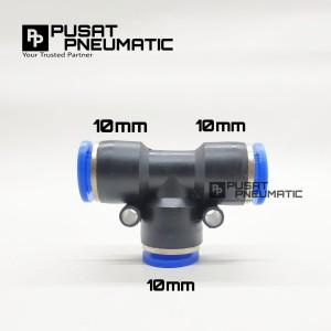 Info Put 10 Fitting Pneumatic Selang 10mmx10mmx10mm Katalog.or.id