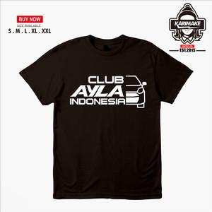 Harga kaos baju mobil daihatsu ayla club indonesia kaos otomotif   | HARGALOKA.COM