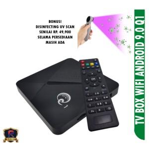 Harga tv box q1 set top box 2 4g wifi android 9 | HARGALOKA.COM
