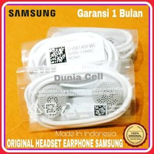 Harga headset earphone samsung galaxy original100 asli made in | HARGALOKA.COM