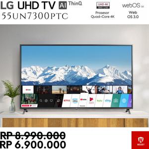 Harga smart tv lg 55un7300ptc 4k uhd tv   webos quad processor 55 inch | HARGALOKA.COM