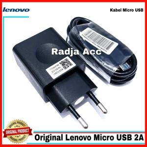 Harga charger lenovo vibe k4 note x3 original 100 micro usb 2a casan | HARGALOKA.COM