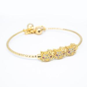 Harga gelang anak perempuan lapis emas perhiasan anak | HARGALOKA.COM