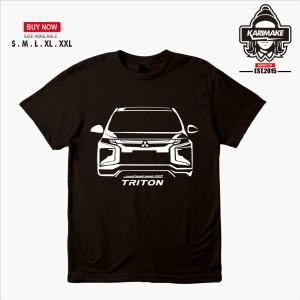 Harga kaos baju mobil mitsubishi all new triton kaos otomotif   | HARGALOKA.COM