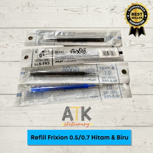 Harga refill isi pulpen frixion pilot 0 7 0 5 atk   0 5 | HARGALOKA.COM