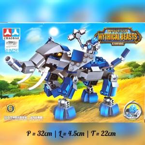 Harga mainan lego bricks chaobao seri 5268   mythical beasts empire mounts   thunder | HARGALOKA.COM