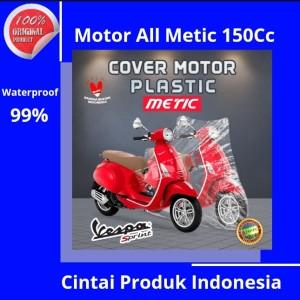 Harga penutup motor plastik semua jenis metic 125cc yamaha mio soul | HARGALOKA.COM