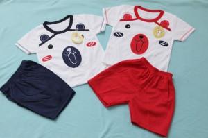 Harga setelan oblong kaos untuk bayi usia 0 12 bulan   bear   HARGALOKA.COM
