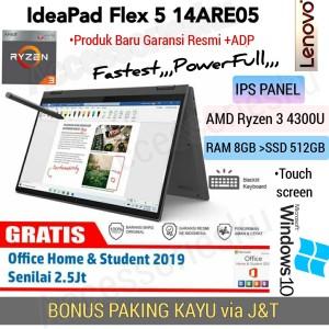 Harga laptop lenovo flex 5 ryzen 3 4300u 8gb ssd 512gb fhd ips windows | HARGALOKA.COM