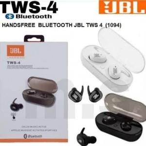 Harga headset jbl tws 4 bluetooth earphone werless stereo bass best | HARGALOKA.COM