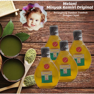 Harga minyak kemiri melani perawatan rambut untuk rambut rontok | HARGALOKA.COM