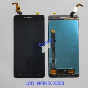 Harga lcd infinix x553 x554 fullset touchscreen infinix hot 3   | HARGALOKA.COM