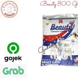 Harga makanan kucing premium beauty premium cat food repack | HARGALOKA.COM