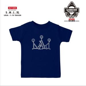 Harga kaos baju anak screamous medival crown kaos distro   | HARGALOKA.COM