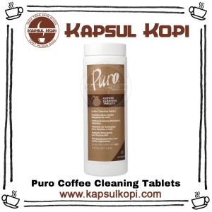 Harga puro coffee cleaning tablets pembersih mesin kopi | HARGALOKA.COM