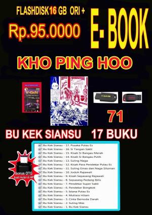 Harga flashdisk memorycard ori 16gb isi ebook buku cerita silat hobi baca | HARGALOKA.COM