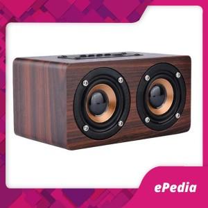 Harga bluetooth speaker stereo subwoofer dengan port aux dan slot sd card   | HARGALOKA.COM
