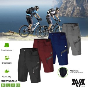 Harga celana sepedah padding original inv model pendek   hitam | HARGALOKA.COM